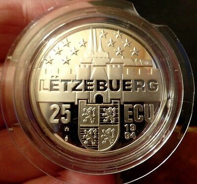 Luxembourg 1994 Silver Proof Marie Therese Duchess of Luxembourg 25 ecu