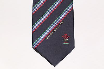 2005 WALES Rugby Union Grand Slam Winners Tie