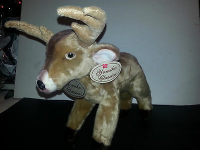 Plush Deer Buck Antlers Yomiko Classics 12 inches toy