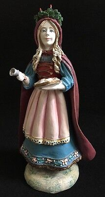 Duncan Royale St Lucia 11in History Of Santa II Figurine 1985