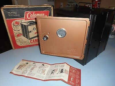 Vintage Coleman  Fold Away Camp Oven Bakes Mouth-Watering Roasts etc. 5010A700