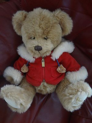 Harrods Christmas Bear 2007 Benjamin Hooded Rare Limited Edition