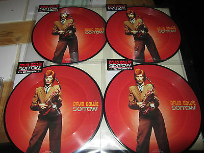 David Bowie Sorrow - 7'' Picture Disc New Sealed Vinyl record