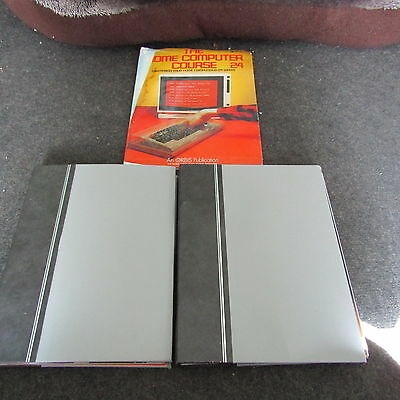 The Home Computer Course Magazines Vintage Complete Set In Binders