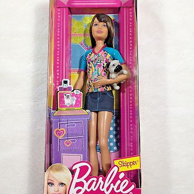 Barbie Skipper Sister of Barbie Gift Set  Puppy  Accessories and Outfit