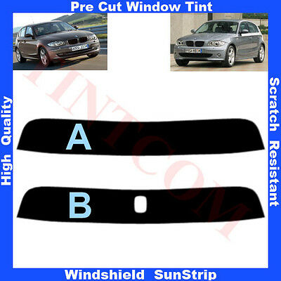 Pre Cut Sunstrip for BMW 1 Series E87 Hatchback 5 Doors 2004-2011 Any Shade