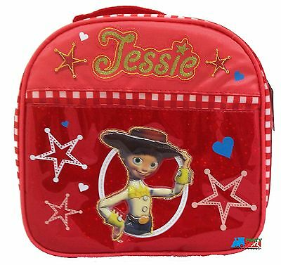 Toy Story Jessie Red Cloth Insulated Fabric Lunch Box Lunchbox - Jesse