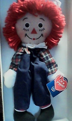 """Applause Raggedy Andy Puppet Doll 16"""""""