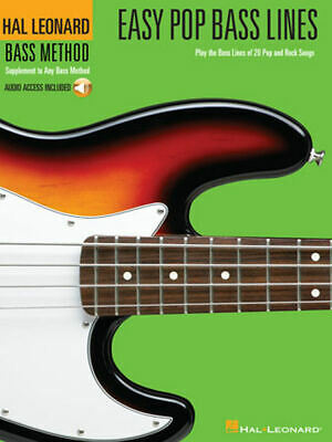 Easy Pop Bass Lines - Play the Bass Lines of 20 Pop and Rock Songs 000695809