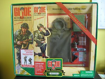 GI JOE TIMELESS COLLECTION 40th ANNIVERSARY ACTION SOLDIER COMMAND POST SET *MIB