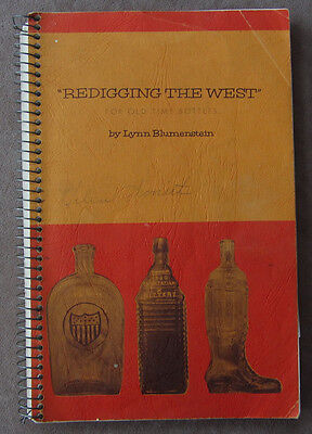 Redigging the West for Old Time Bottles Reference, Identification Book 1965