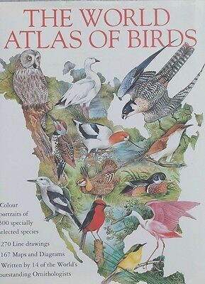 The World Atlas of Birds by Hardcover Book (English)