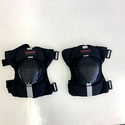 Scoyco Knee Pad Black K15 Skate Offroad Motorbike Protection A Pair