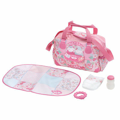New ELC Boys and Girls Baby Annabell Changing Bag Toy From 3 years