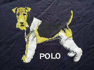 Vintage Polo Sport Ralph Lauren Hunting Dog T Shirt Snow Beach 1992 P Wing RL