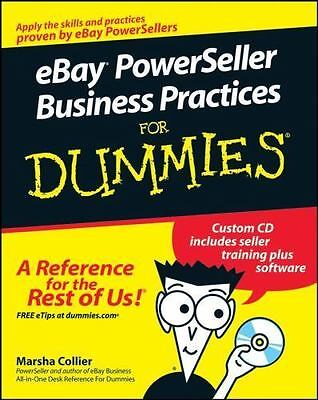 Ebay power seller business card holder mouse pad plus letters to ebay powerseller business practices for dummies by collier marsha colourmoves