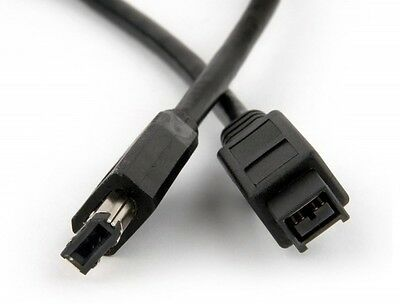 1.5m FireWire 6 Pin to 9 Pin Cable IEEE 1394 6P-9P Male-Male up to 400Mbps
