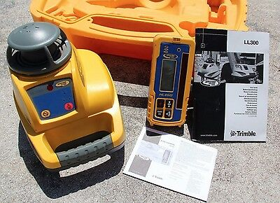 Spectra Precision Trimble LL300 - Self Leveling Laser!! W/Case & Receiver!!