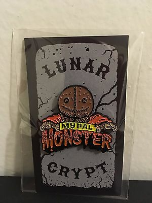 Lunar Crypt Trick R Treat Sam My Pal Monster Enamel Pin Sack Head Horror