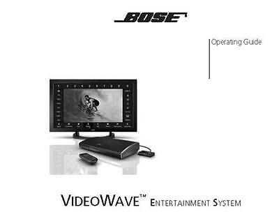 bose videowave iii entertainment system owners manual user guide rh picclick com Bose Wireless Surround Sound Bose Wireless Surround Sound