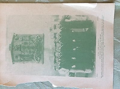 m17a7 book picture ephemera 1917 h m s new zealand ships company