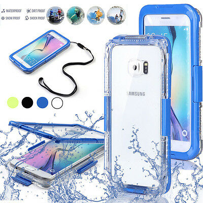 Swimming Waterproof Shockproof Full Case Cover For Samsung Galaxy S7 Edge Note 7