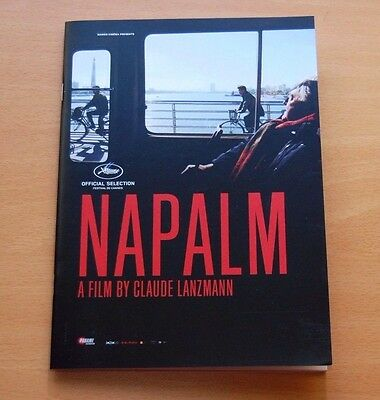 Claude Lanzmann NAPALM Official Pressbook Cannes Film Festival 2017 North Korea