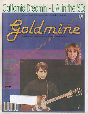 GOLDMINE Record Collectors News Magazine-September 1991-L.A. in the 60's FREE Sh