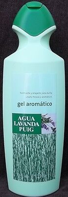 Agua De Lavanda Puig - 750ml - Lavander Spanish Bath Gel. Made in Spain