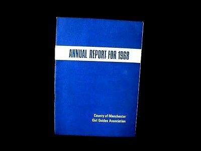 County of Manchester GIRL GUIDES ASSOCIATION ANNUAL REPORT FOR 1968