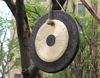 24'' Chau Gong and wood mallet China classic copper instruments