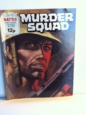 Battle Picture Library 'Murder Squad' (Issue 1188)