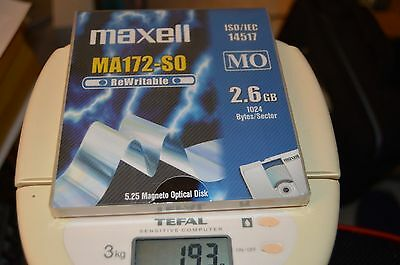 Disquette Magneto optique  Maxel MA-172-SO 2.6GB
