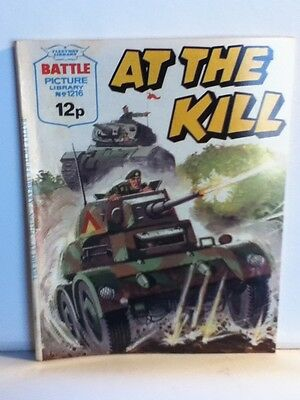 Battle Picture Library War Comic 'At The Kill' (Issue 1216)