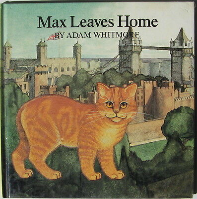 Illustrated Manx Cat Story   Max Leaves Home