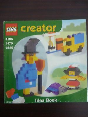 Lego Creator Idea Book 4106 4179 7825 Instructions Manual Only