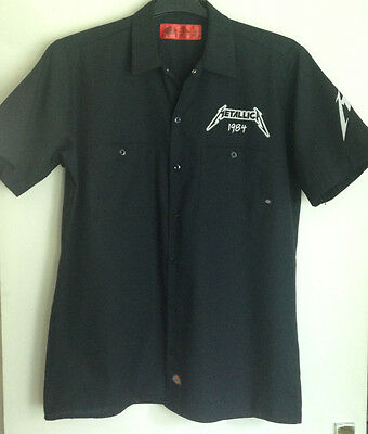 Metallica, Ride The Lightning,  30th Anniversary, Short-sleeved Shirt, size M