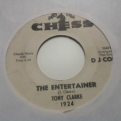 Tony Clarke - The Entertainer / This Heart Of Mine - Chess 1924 Promo.