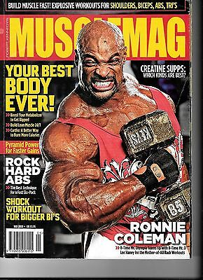 """May 2010 Edition Robert Kennedy""""s Musclemag Used In Quite Good Con."""
