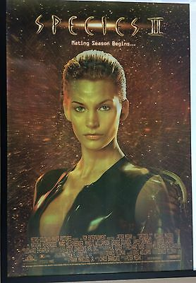 SPECIES 2, Natasha Henstridge, 3D Lenticular ORIGINAL CINEMA POSTER