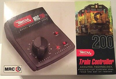 Model Trains Tech 4 MRC 200 Train Controller Accutec Technology NIB