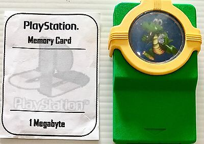 Playstation 1 Memory Card 1MB PS1 PSX PSOne PS2