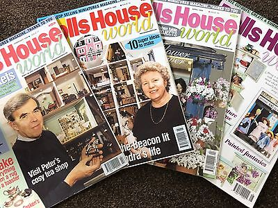 **sale** 4 X Dolls House World Magazine - Issues 77,78,79 & 80