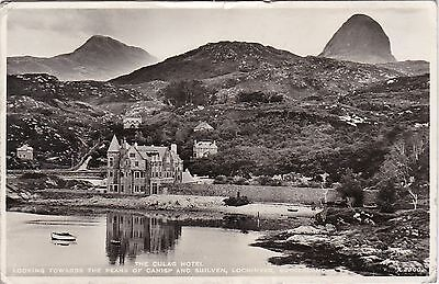The Culag Hotel, Canisp & Suilven, LOCHINVER, Sutherland RP