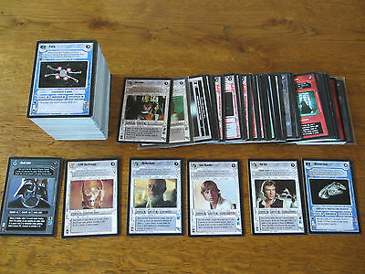Star Wars - Premiere BB - Near Complete Set - 322 cards  ccg SW Luke Vader Leia