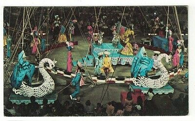 1973 Postcard Ringling Bros and Barnum and Bailey Circus Inspired Imagination