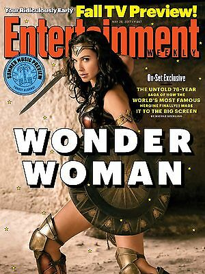 Entertainment Weekly Magazine Wonder Woman Gal Gadot Katy Perry NEW