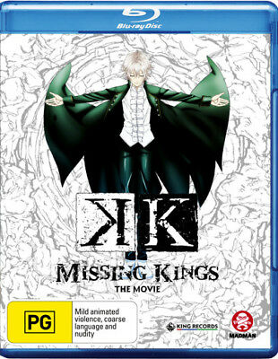 K The Movie Missing Kings Blu-ray Region B New!