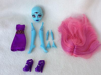 Monster High Create-A-Monster Three-Eyed Ghoul Doll Add On Pack