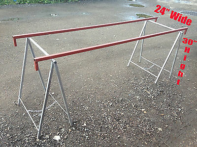 "MARKET STALL TABLE STAND (2x PIECES) 30"" HIGHT"